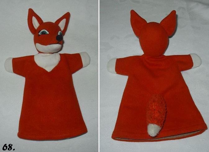 Как сделать куклу-лису для кукольного театра